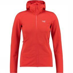 Arc'teryx Kyanite Trui Dames Middenrood