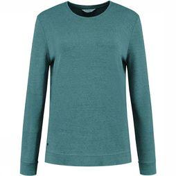 Blue Loop Originals Pure Denimcel Sweater Dames Donkergroen