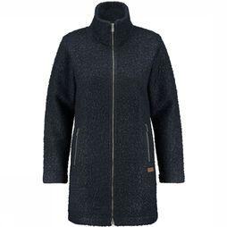 Ayacucho Vienna Long Fleece Vest Dames Marineblauw