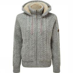 Sherpa Kirtipur Cable-Knit Sweater Middengrijs