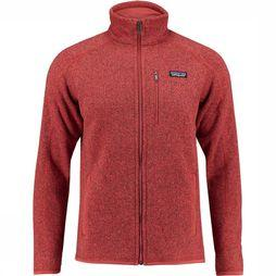 Patagonia Better Sweater Fleece Donkerrood/Middenrood