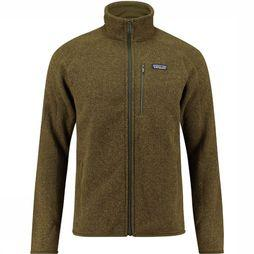 Patagonia Better Sweater Fleece Donkerkaki