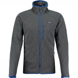 Patagonia Performance Better Sweater Vest Donkergrijs Mengeling