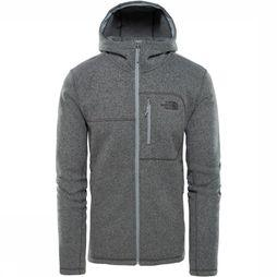 The North Face Gordon Lyons Hoodie Lichtgrijs Mengeling/Donkergrijs Mengeling