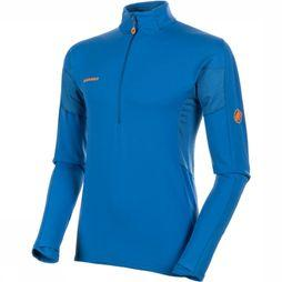 Mammut Moench Advanced Half Zip LS Shirt Middenblauw