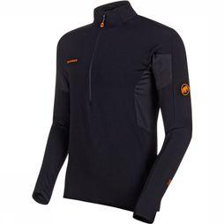 Mammut Moench Advanced Half Zip LS Shirt Zwart