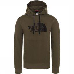 The North Face Pull Drew Peak Hoodie Donkerkaki