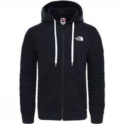 The North Face Open Gate FullZip Hoodie Zwart/Wit