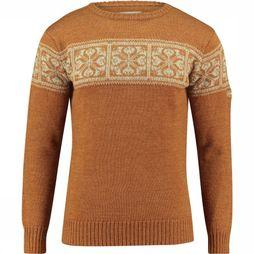 Ayacucho Knight Sweater Trui Bruin/Roest