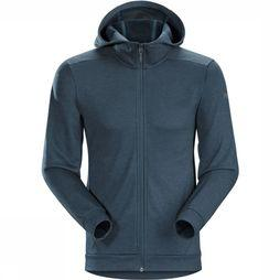 Arc'teryx Dallen Fleece Hoody Vest Marineblauw