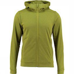 Arc'teryx Dallen Fleece Hoody Vest Lichtgroen/Middengeel