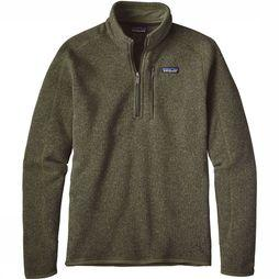 Patagonia Better Sweater 1/4 Zip Fleece Middengroen