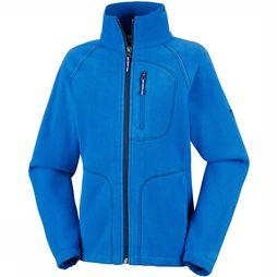 Columbia Fast Trek II Full Zip Vest Junior Blauw/Marineblauw