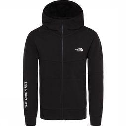 The North Face Youth South Peak Hoodie Met lange rits Zwart/Wit