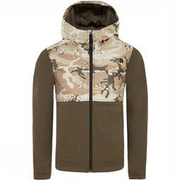 The North Face Kickin It Hoodie Junior Donkerkaki