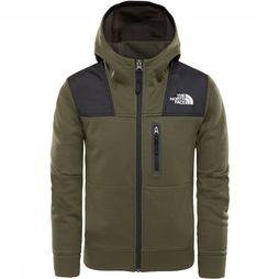 The North Face Linton Peak Vest Junior Donkerkaki
