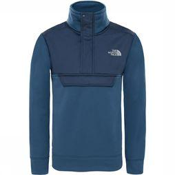 The North Face Surgent 1/4 Vest Junior Donkerblauw