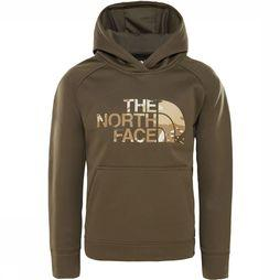 The North Face Surgent P/O Hoodie Junior Donkerkaki/Middenkaki