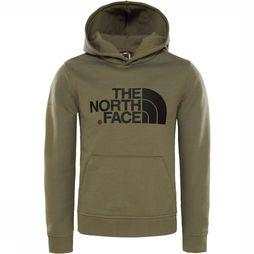 The North Face Drew Peak Hoodie Junior Donkerkaki