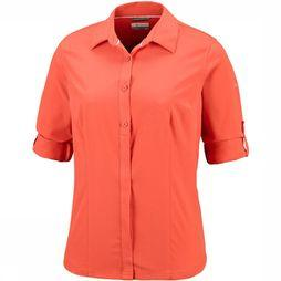 Columbia Saturday Trail  Stretch LS Shirt Dames Roest