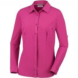 Columbia Saturday Trail Stretch LS Shirt Dames Middenpaars