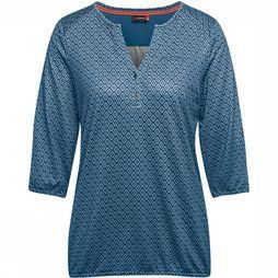 Maier Sports Doora Blouse Dames Middenblauw/Assortiment