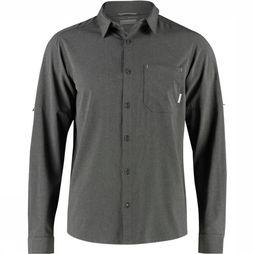 Columbia Triple Canyon Shirt Zwart/Turkoois