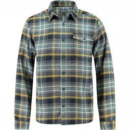Long-Sleeved Lightweight Fjord Flannel Overhemd
