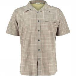 Ayacucho Hiker II Stretch SS AM Shirt Lichtbruin/Assortiment Geometrisch