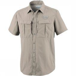 Columbia Cascades Explorer  Short Sleeve Shirt Zandbruin