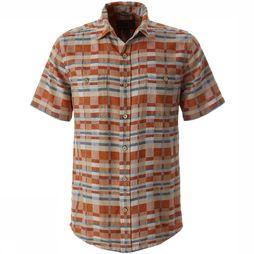 Royal Robbins Slab City Dobby S/S Shirt Oranje/Assortiment