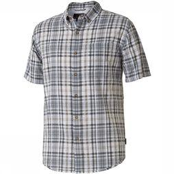 Royal Robbins Mid-Coast Plaid Shirt Zwart/Donkergrijs
