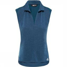 The North Face Inlux S/L Top Dames Donkerblauw/Petrol