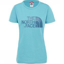 The North Face Easy T-Shirt Dames Petrol/Blauw