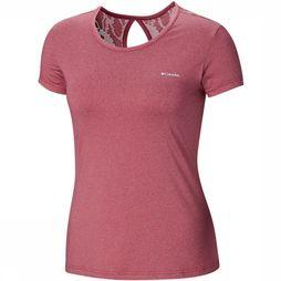 Columbia Peak To Point Novelty Short Sleeve Shirt Dames Middenpaars