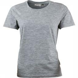 Lundhags Merino Light Shirt Dames Lichtgrijs