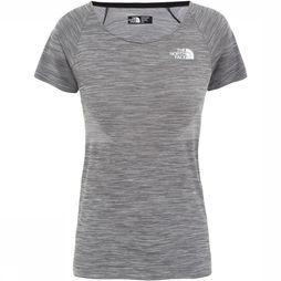 The North Face Impendor Smls Shirt Dames Lichtgrijs Mengeling