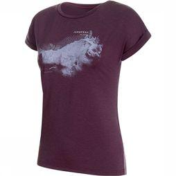 Mammut Mountain T-Shirt Dames Paars