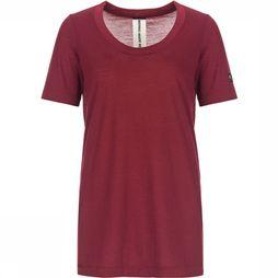 Supernatural Oversize T-shirt Dames Bordeaux