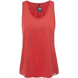The North Face Day Three Tanktop Dames Koper/Rood