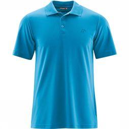 Maier Sports Ulrich Polo Blauw