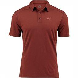 Arc'teryx Pelion Polo Bordeaux