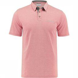 Columbia Nelson Point  Polo Middenrood