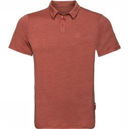 Odlo S/S Ceramiwool Polo Roest