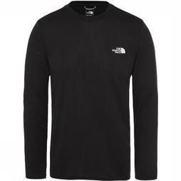 The North Face Reaxion Amp LS Shirt Zwart