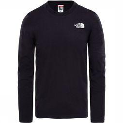 The North Face L/S Easy T-shirt Zwart