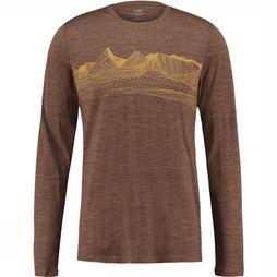 Tech Lite Ls Crewe Pyrenees Shirt