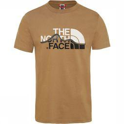 The North Face Mountain Line T-Shirt Kameelbruin
