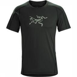 Arc'teryx Phasic Evolution Crew SS T-shirt Zwart
