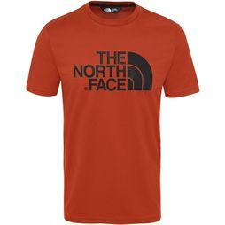 The North Face Tanken T-shirt Rood/Middenrood